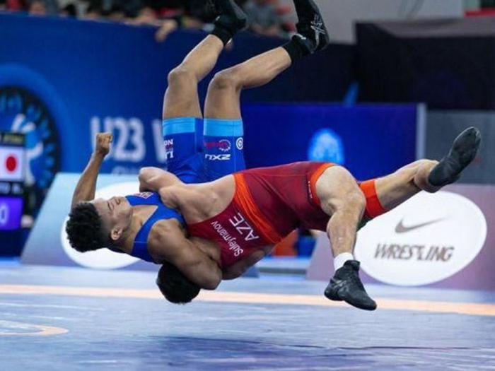 Aserbaidschanische Nationalmannschaft stellte einen Rekord im griechisch-römischen Ringen auf