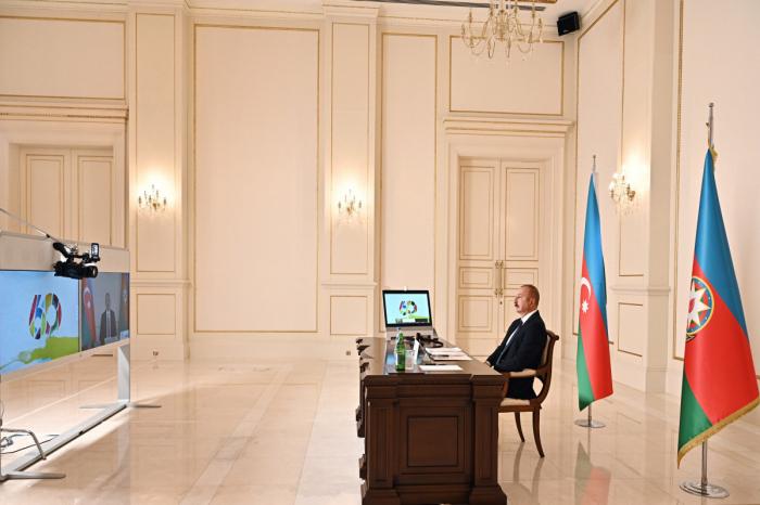 """El jefe de Estado  : """"Azerbaiyán ha sido objeto de un enfoque selectivo durante los últimos 30 años"""""""