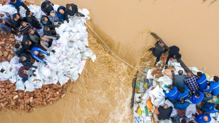 China floods displace nearly 2 million in Shanxi province