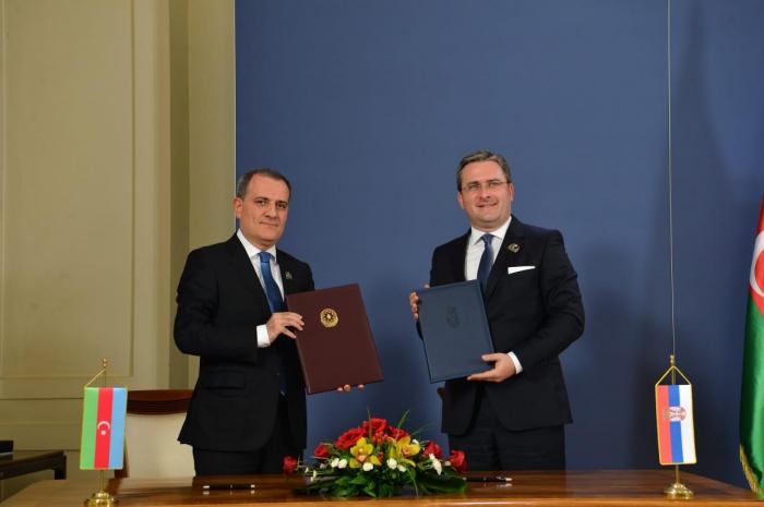 Azerbaijan, Serbia sign visa-free travel agreement