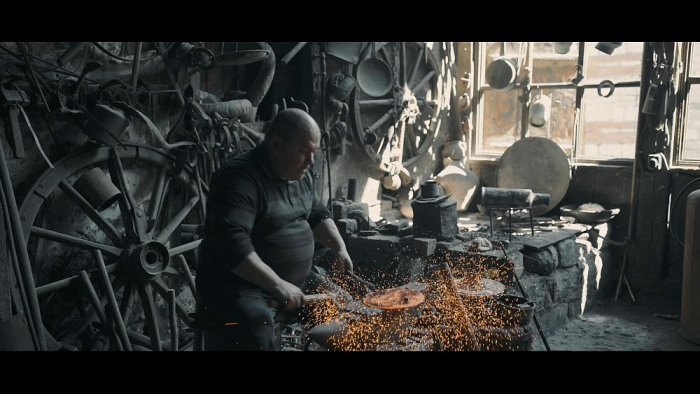 EURONEWS  : Highly skilled art of copperware production lives on in Lahij    VIDEO