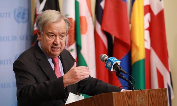 Afghanistan 'at make-or-break point', UN Sec. Gen says