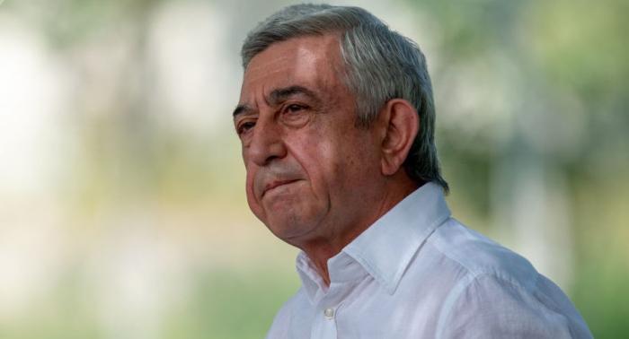 Armenia opens criminal case against ex-president Serzhik Sarkisyan
