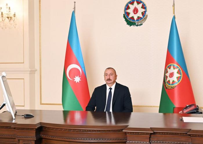 Ilham Aliyev:   Hauptprinzip der Außenpolitik Aserbaidschans ist die Unabhängigkeit