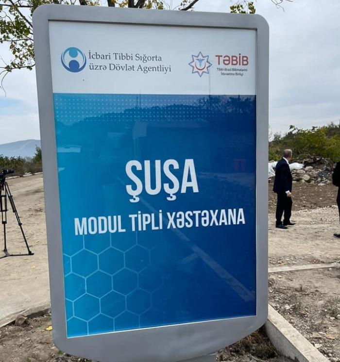 Inaugurado hospital modular en Shushá