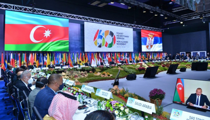 Azerbaijan presents document following high-level meeting on NAM