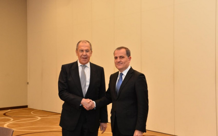 Azerbaijani, Russian FMs discuss implementation of trilateral statement on Karabakh