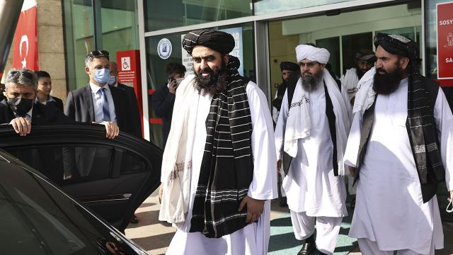 Taliban delegation arrives in Ankara
