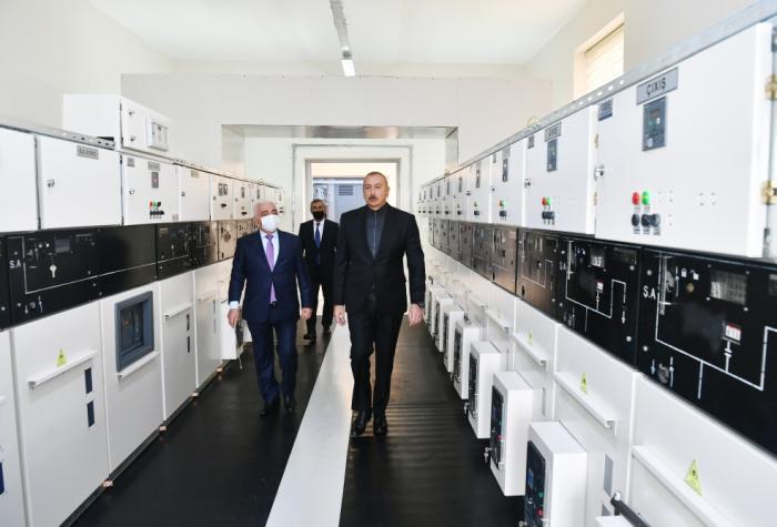 """""""Jabrayil"""" substation inaugurated"""