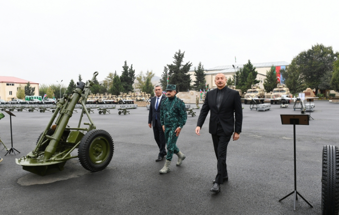 President Aliyev inaugurates complex of State Border Service's military unit in Jabrayil -   PHOTOS