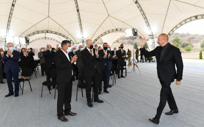 President Aliyev meets with members of Jabrayil general public - UPDATED