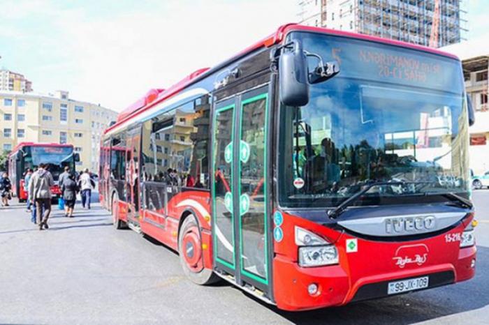 """""""Avtobuslar şənbə və bazar günləri adi rejimdə işləyəcək"""" -   BNA"""