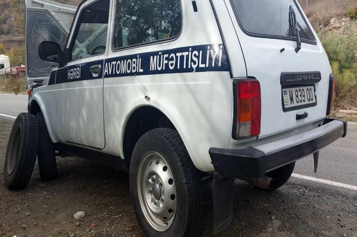 Un groupe armé arménien illégal tire sur un convoi non militaire se déplaçant de Sougovouchan à Kellbedjar