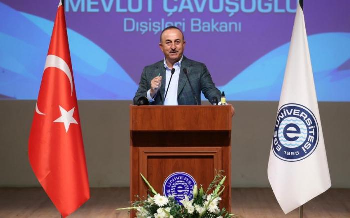 """""""Azərbaycanla birgə hərbi təlimlər başqalarının əleyhinə deyil"""" -    Mövlud Çavuşoğlu"""