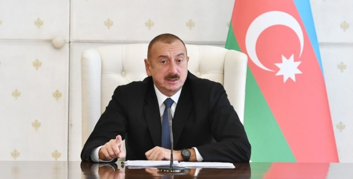 """""""Ermənistan bizə dəqiq xəritələr təqdim etsin"""" -    İlham Əliyev"""