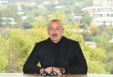 La libération de Hadrout a ouvertde nouvelles opportunités pour nos plans ultérieurs - Ilham Aliyev