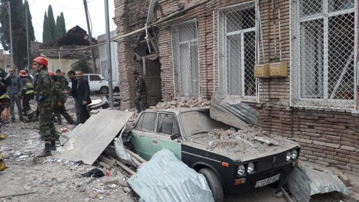 الذكرى السنوية الاولى لاول العمل الارهابي المرتكب من قبل أرمينيا في كنجة