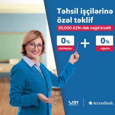 Təhsil işçiləri üçün AccessBank-dan özəl kampaniya