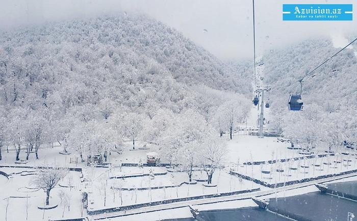 Xınalığa qar yağıb -    Faktiki hava