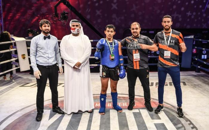 Azərbaycan idmançısı Dubayda qızıl medal qazanıb