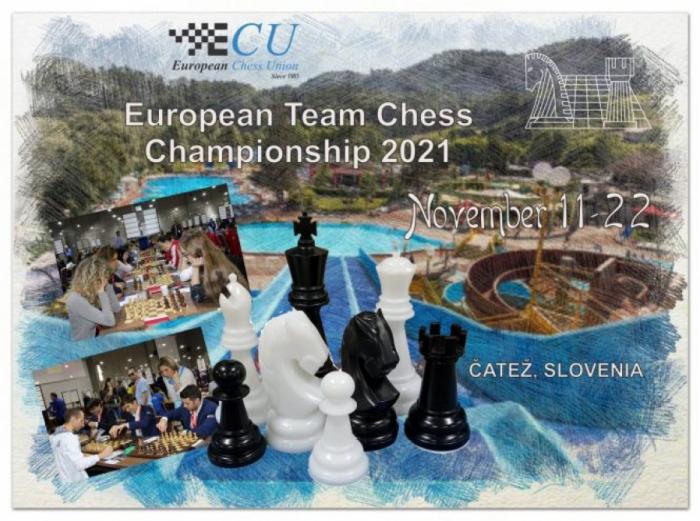 Azerbaijani chess players to compete at European Team Championship 2021