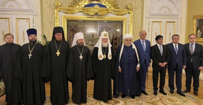 QMİ sədri Patriarx Kirillə görüşüb