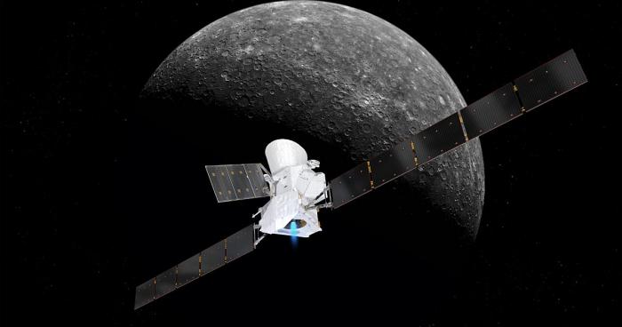ESA Merkurinin yaxın məsafədən ilk görüntüsünü yaydı-   FOTO