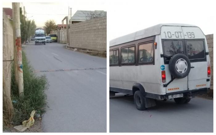 Qanunsuz sərnişin daşıyan mikroavtobuslar aşkarlanıb