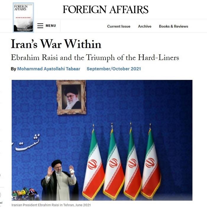 """İran """"yeni era""""ya adlayır və təhlükəli dövlətə çevrilir -    """"Foreign Affairs"""""""