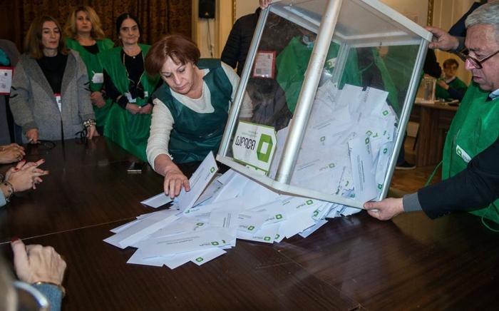 Gürcüstanda seçkilər başa çatıb: Hakim partiya səs çoxluğu qazanıb