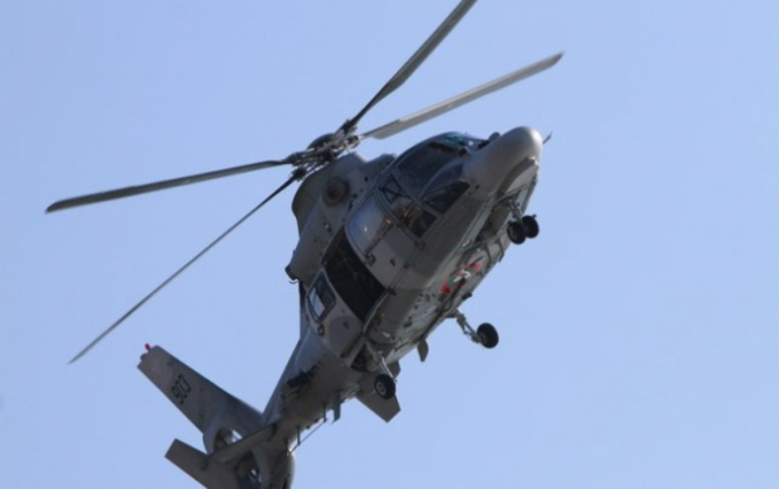 Kanadada helikopter okeana düşüb