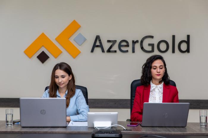 """""""AzerGold"""" geoloqlarının elmi işi beynəlxalq konfransda yüksək nəticə əldə edib"""