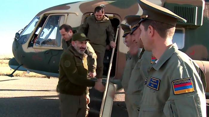 Paşinyanın paslanan helikopteri:   Axırıncı dəfə ötən ilin bu günü istifadə edib