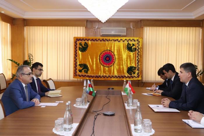 Se debatieron las relaciones económicas y comerciales entre Azerbaiyán y Tayikistán
