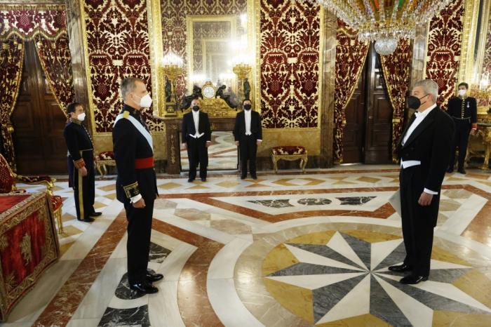 El embajador de Azerbaiyán presentó sus cartas credenciales al Rey de España