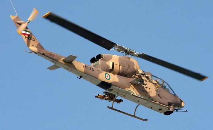 İran helikopteri təlimlərdə 3 əsgəri öldürüb:   Detallar