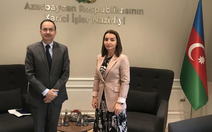 Pakistanın səfiri Leyla Abdullayeva ilə görüşüb