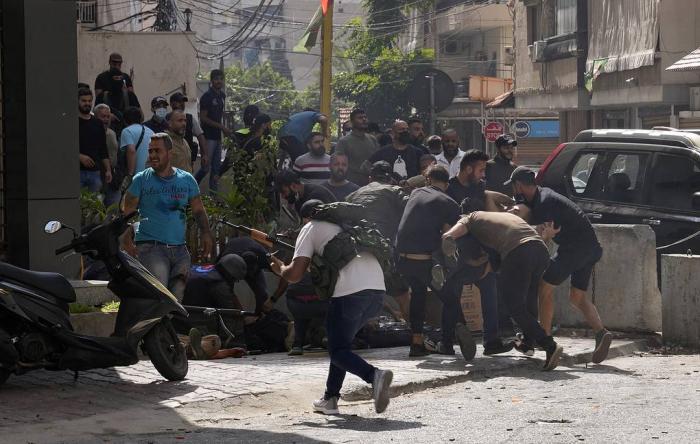 Beyrutdakı aksiyada ölənlərin sayı 6 nəfərə yüksəlib