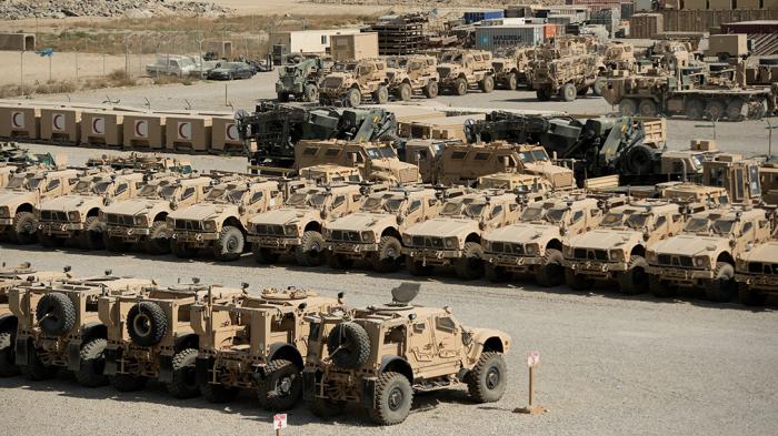 Rusiya Talibana qalan cəbbəxananın dəyərini açıqladı:   85 milyard dollar!