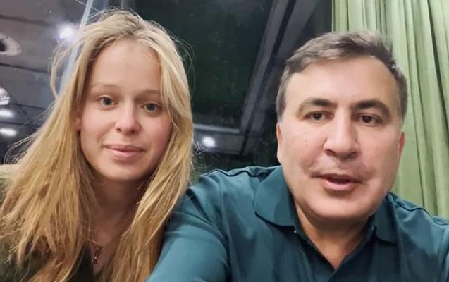 Saakaşvili ukraynalı deputatla evlənib -    Video