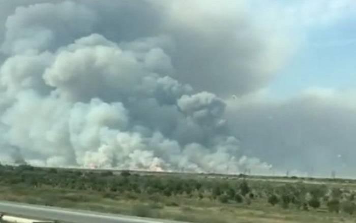 Explosion im Waffenlager in Aserbaidschan