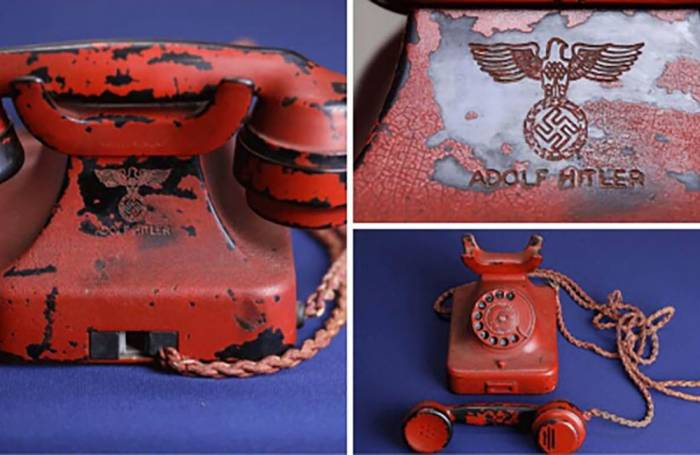 Le répertoire téléphonique du Führer adjugé au double de son prix de départ