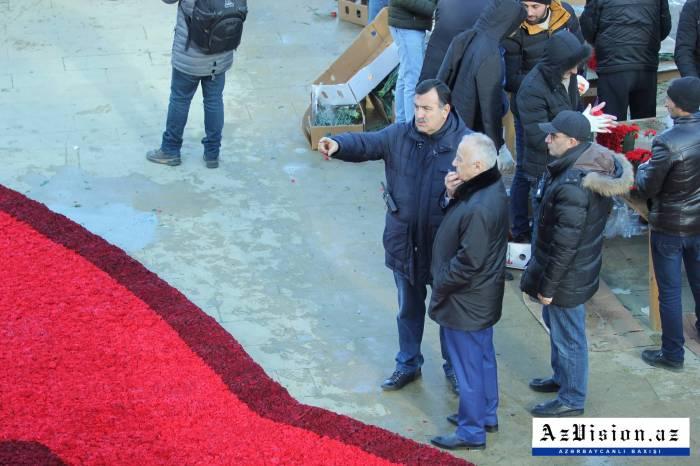 Abutalıbov Şəhidlər Xiyabanına getdi, tapşırıqlar verdi - FOTOLAR