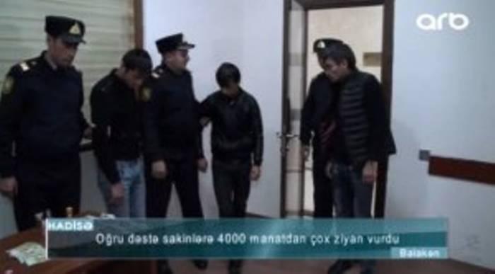 6 məsciddən oğurluq edən dəstə tutulub - VİDEO