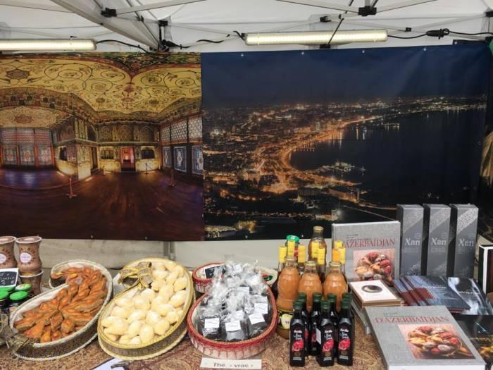 L'Azerbaïdjan au Village international de la Gastronomie