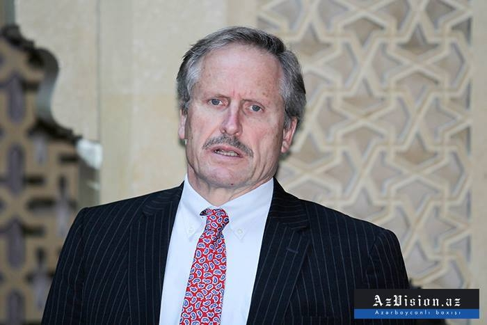 US committed to Karabakh conflict's peaceful settlement - Cekuta