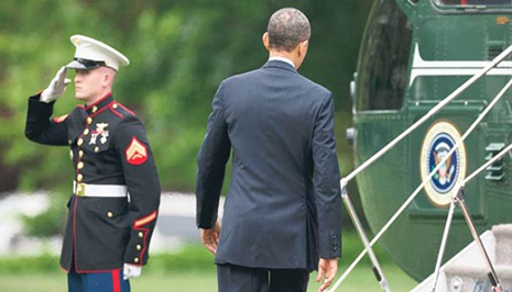 Obama salam verməyi unutdu - FOTOLAR,VİDEO