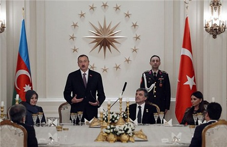Prezident və xanımının şərəfinə rəsmi nahar - FOTO