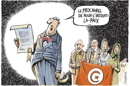 Prix Nobel à la démocratie tunisienne
