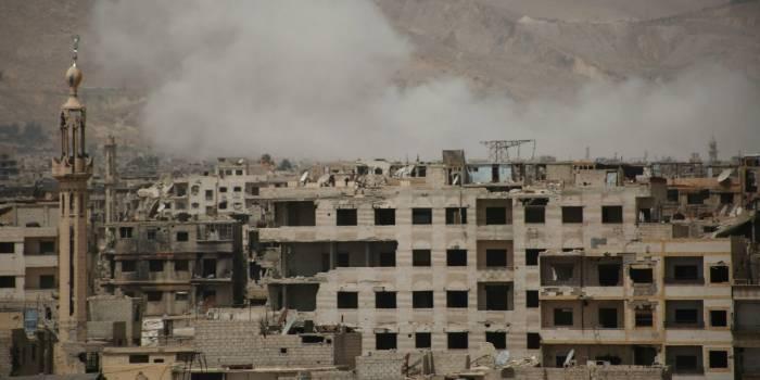 """Des """"morts et des blessés"""" dans une """"forte explosion"""" à Damas"""
